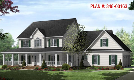 Farmhouse Home Plans Design Style