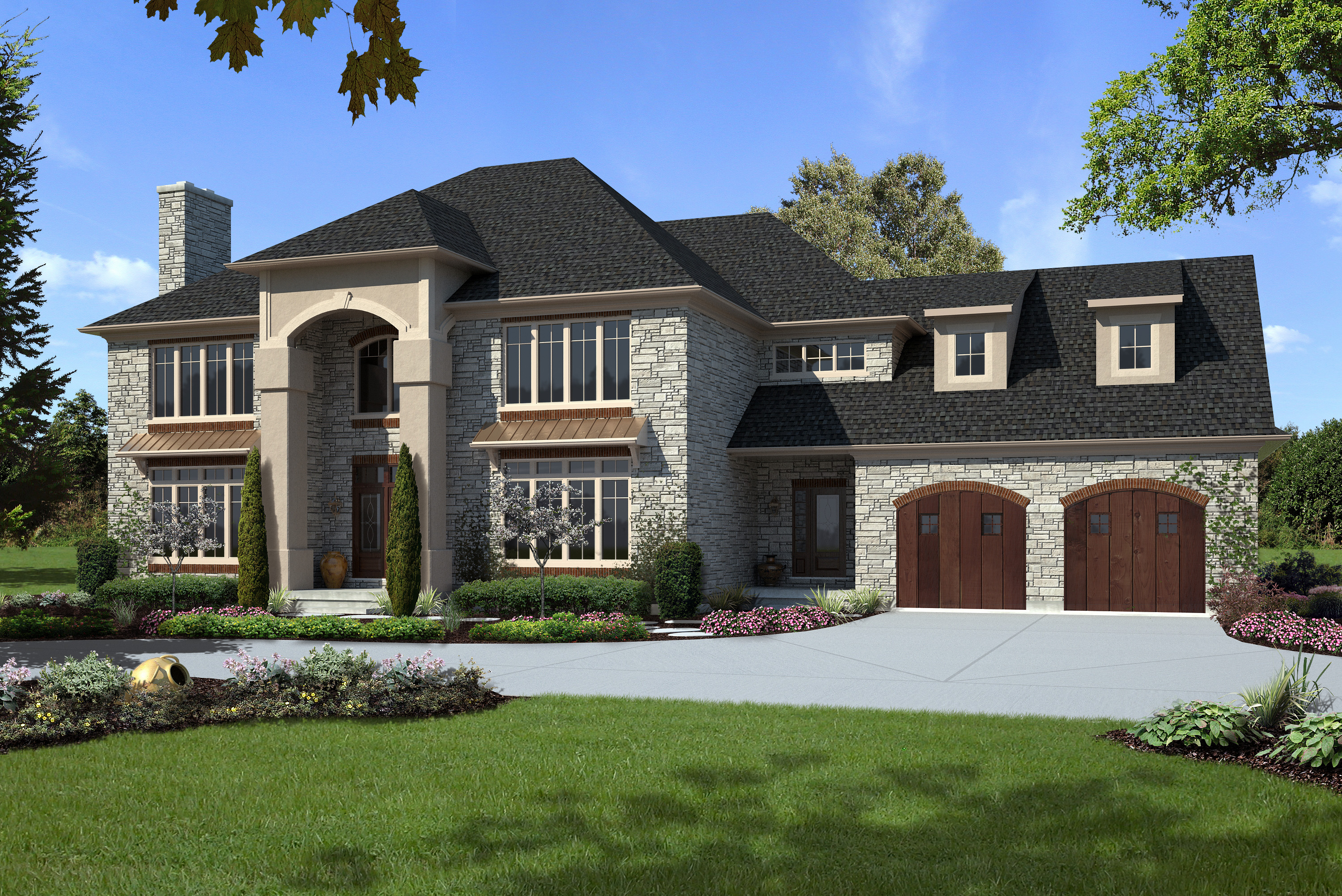 custom designed homes. two luxury custom homes in tampa designed