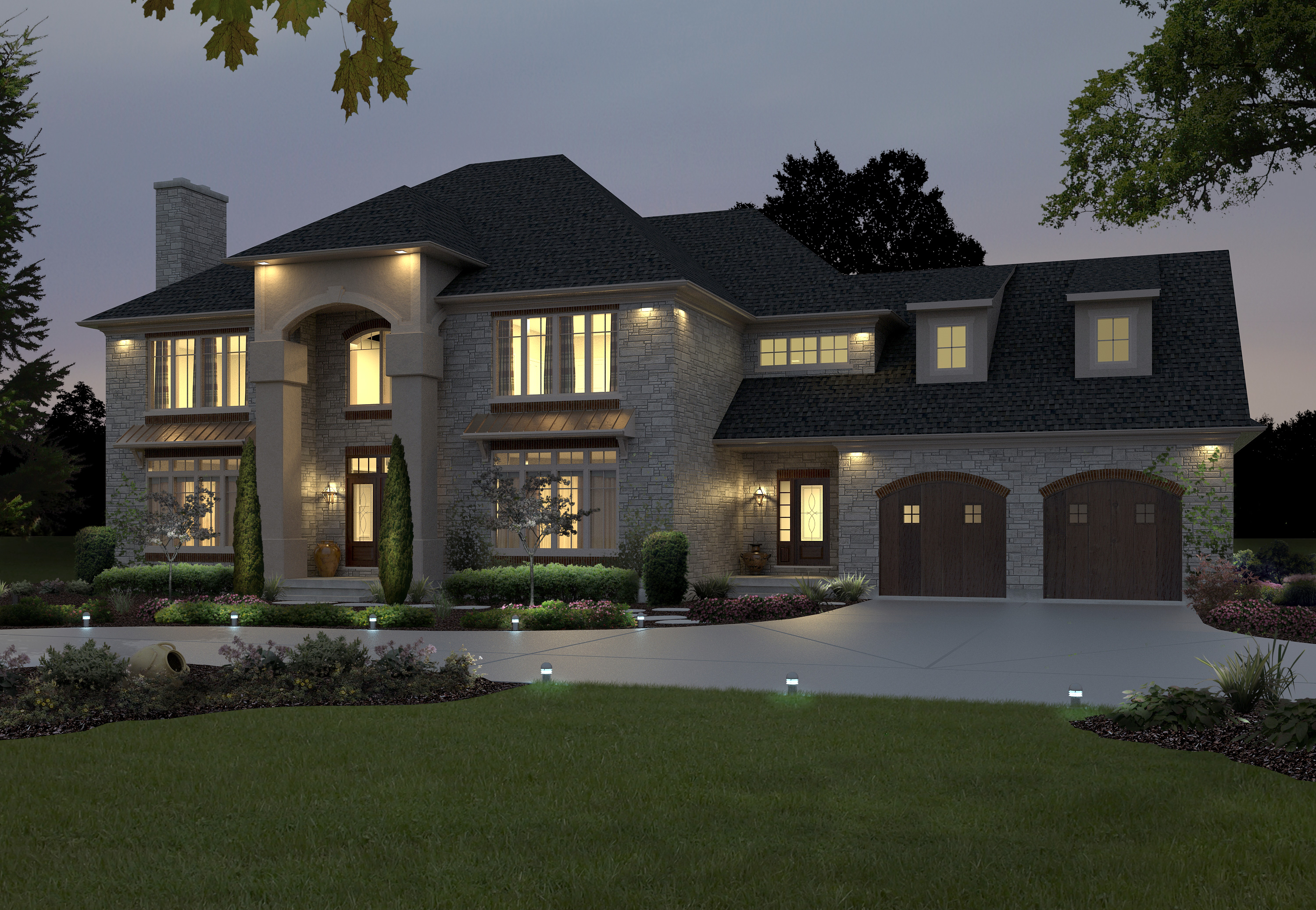 Custom Home Designs House Plans One Floor Living With Modern Americas Best