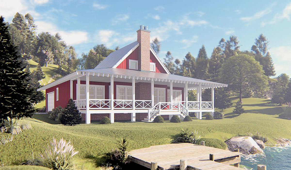 Lake Front House Plans