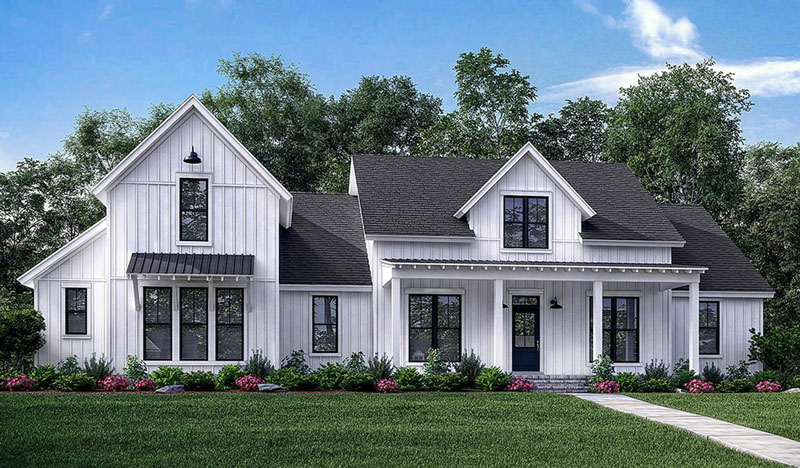Modern Farmhouse Home Plans
