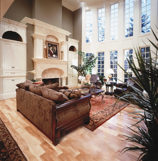 French Country 699-00002 vaulted ceiling