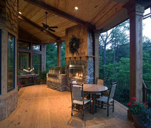 Lake Front 699-00011 Outdoor Fireplace