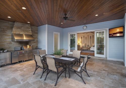 Luxury 1018-00075 Outdoor Kitchen
