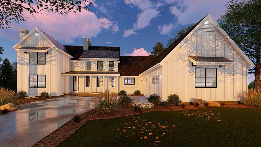 Modern Farmhouse 963-00152