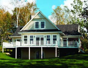 28+ [ house plans lakefront ] | lakefront log home floor plans log
