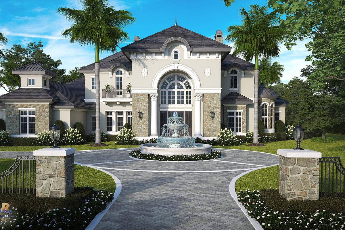 Luxury House Plan 1018-00281