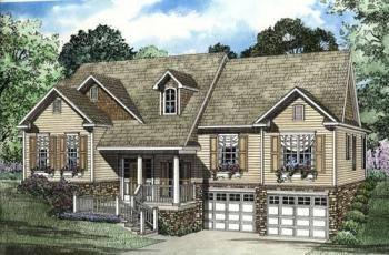 Featured house plan style split foyer america 39 s best for Split foyer house plans