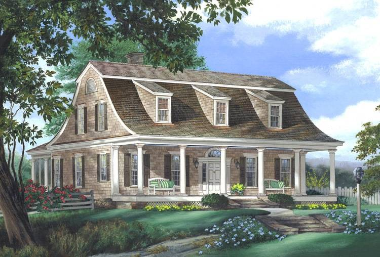 Cape cod house plans america 39 s best house plans blog for New england colonial home plans