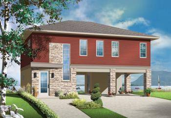Drive under house plans america 39 s best house plans blog for Drive under garage house plans