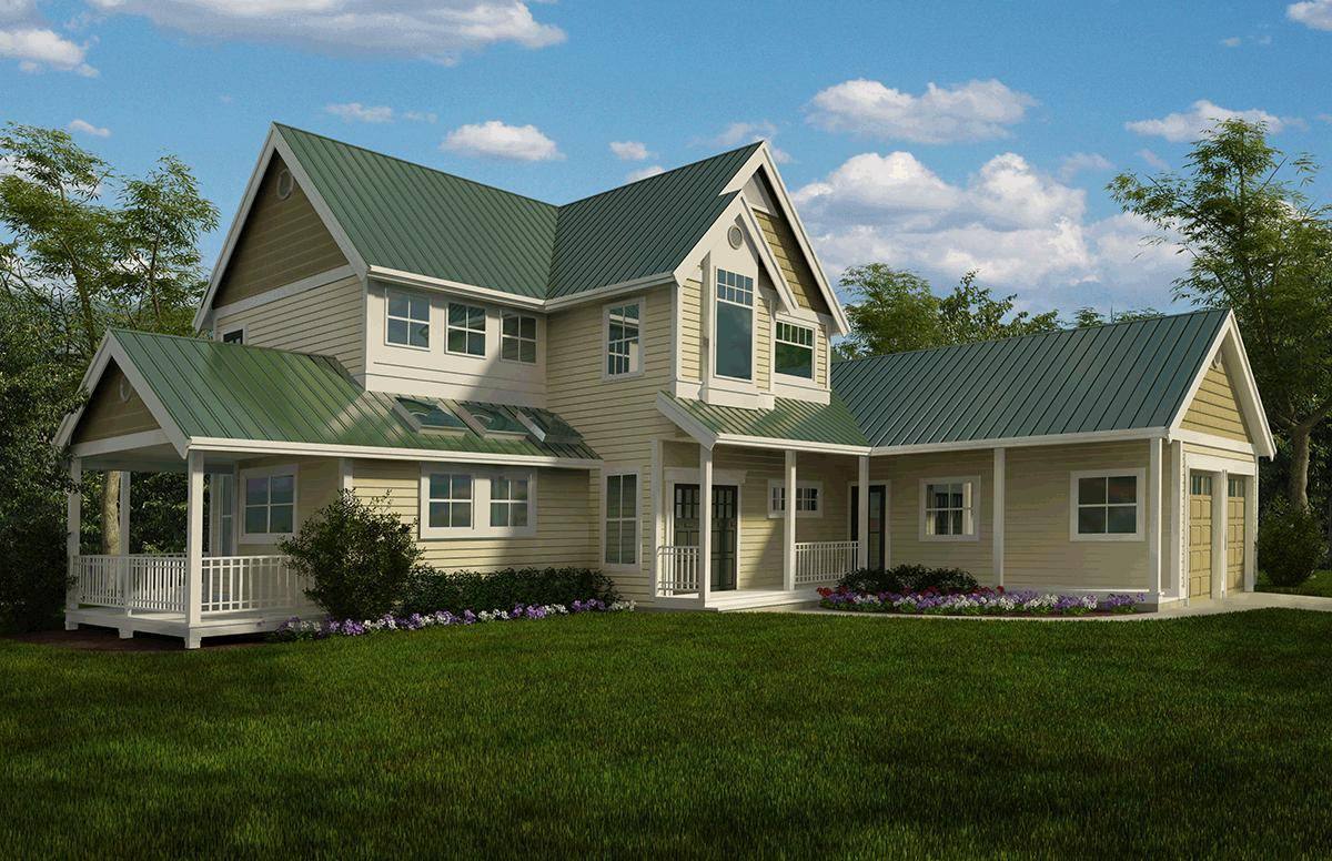 Cottage House Plan 4177-00024