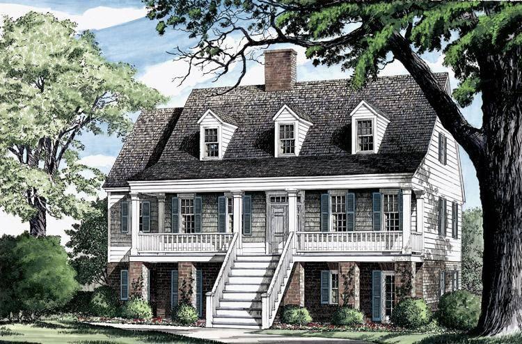Southern House Plan 7922-00075