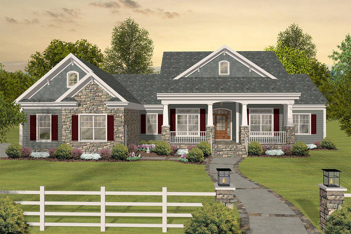 Country House Plan 036-00243