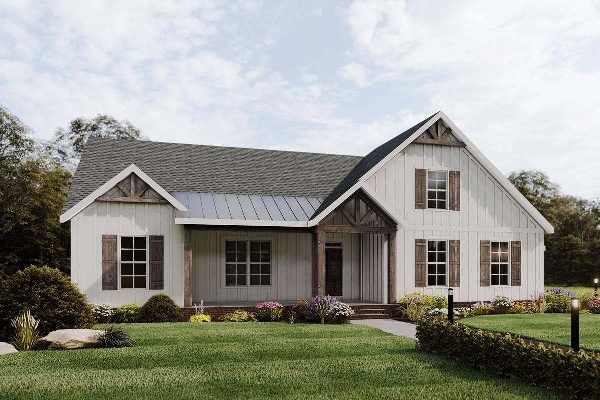 Modern Farmhouse Plan 009-00288