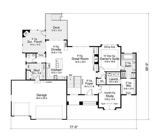 sometimes - House Plans With Mudrooms