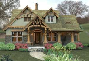 Miraculous Complement Your Small House Plan With A Stunning Garden Largest Home Design Picture Inspirations Pitcheantrous