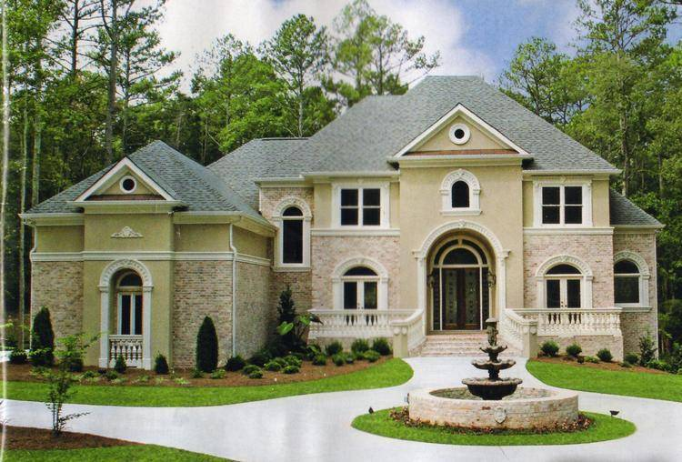 Luxury dream home plans house plans home designs