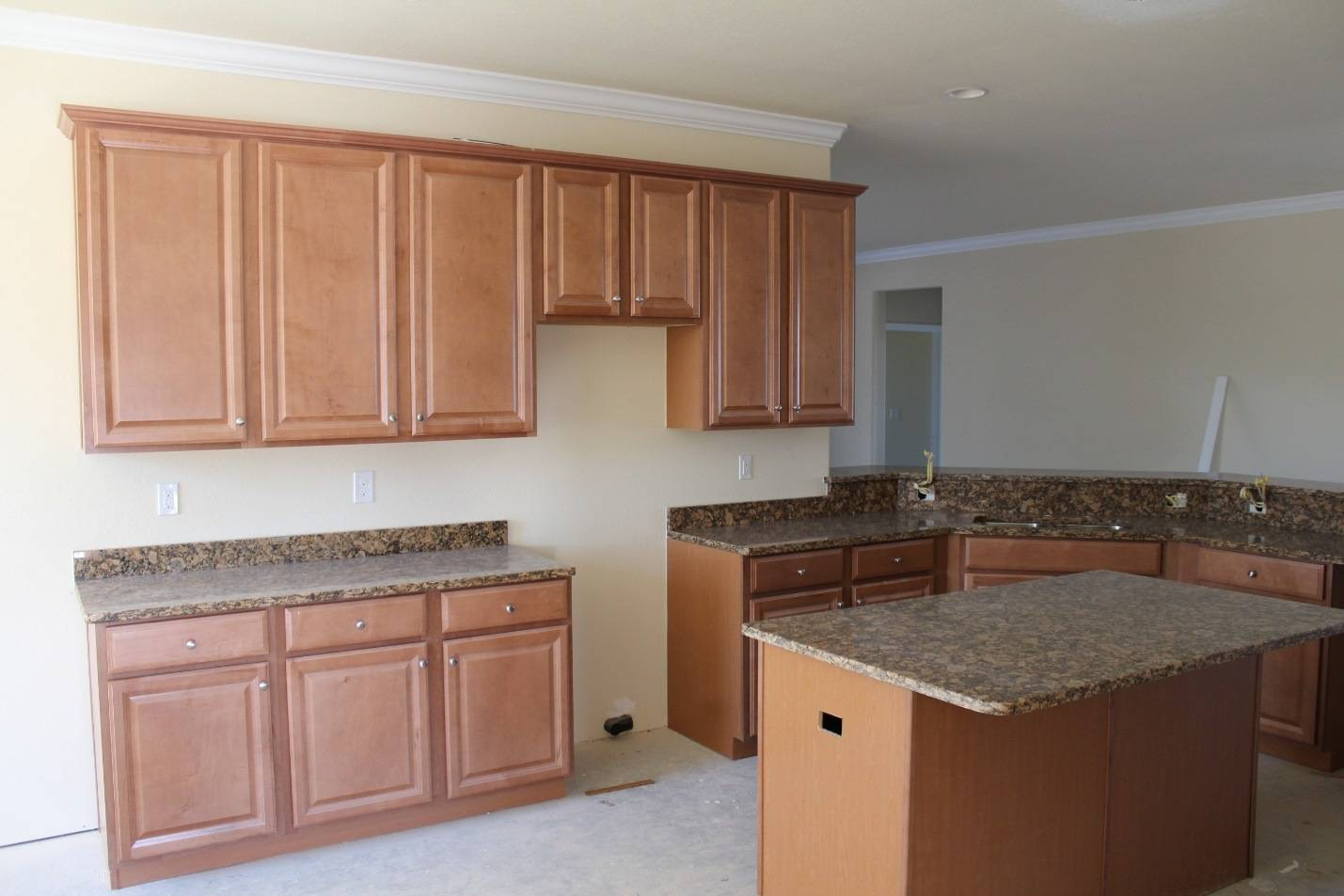 Install cabinets before or after flooring america 39 s for Flooring before cabinets