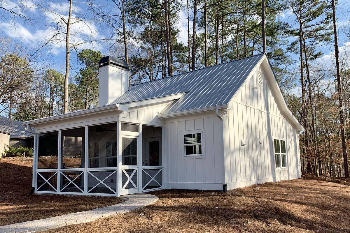Cottage House Plan 286-00090