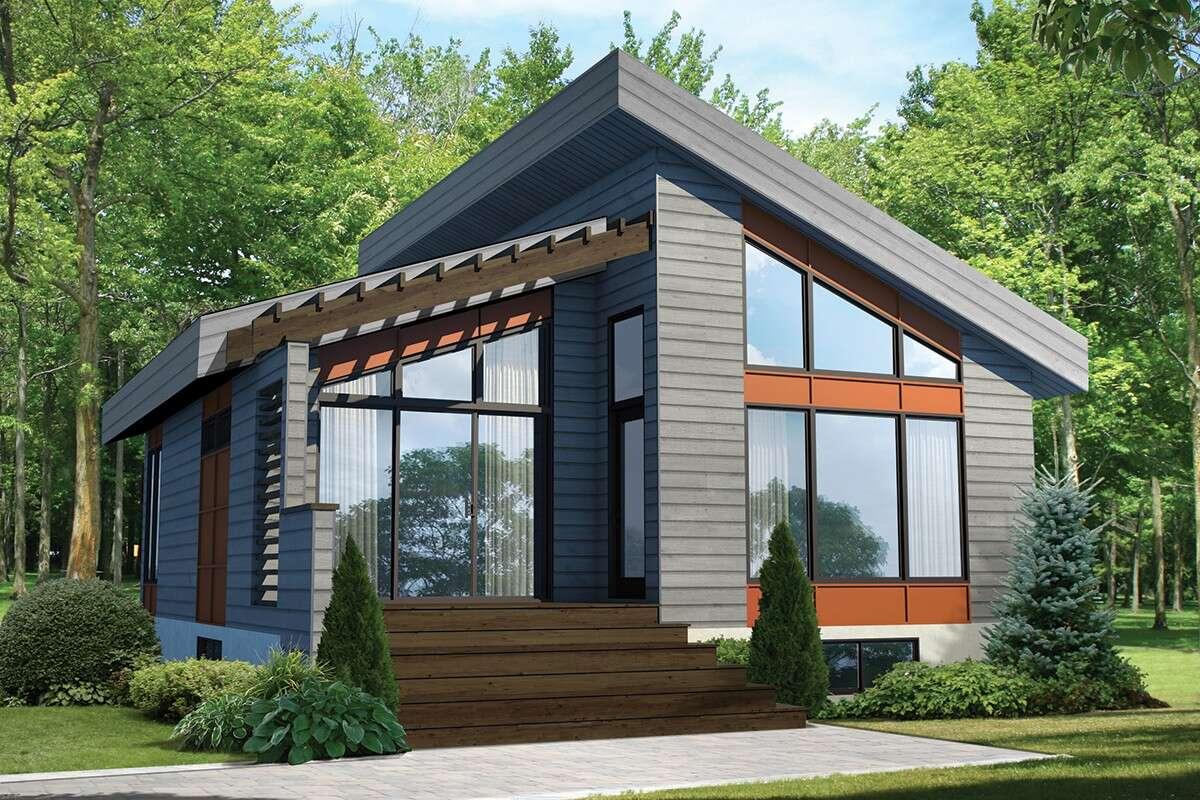 Modern House Plan 6146-00399