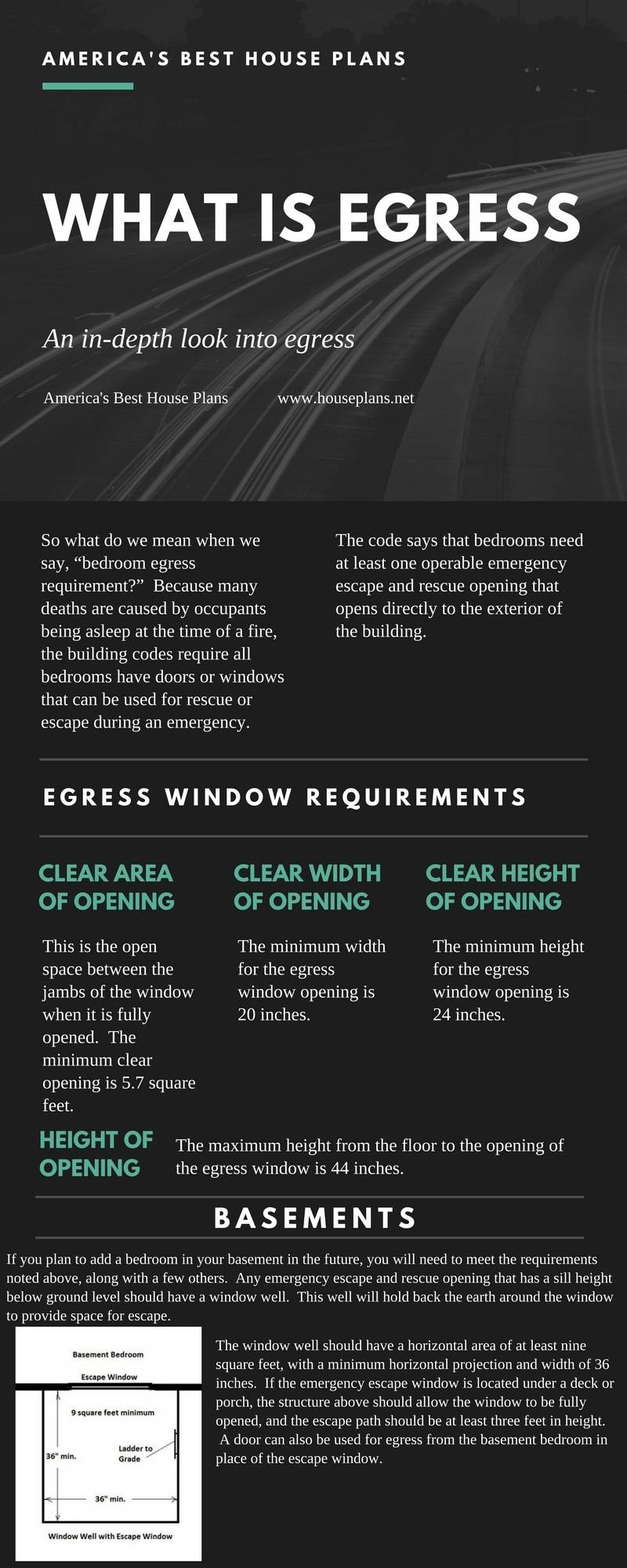 Egress Window Information