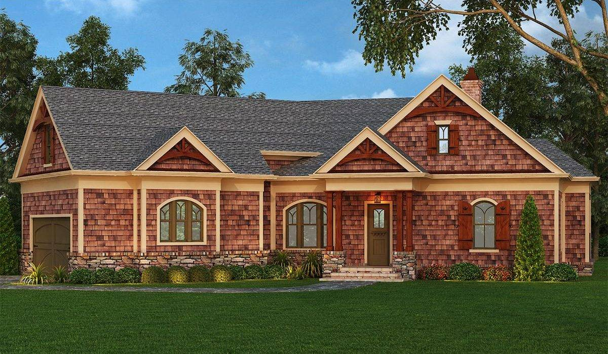 Craftsman House Plan 4195-00019