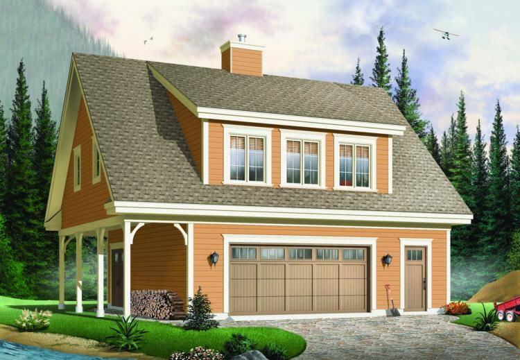 Garage Plan 034-00109