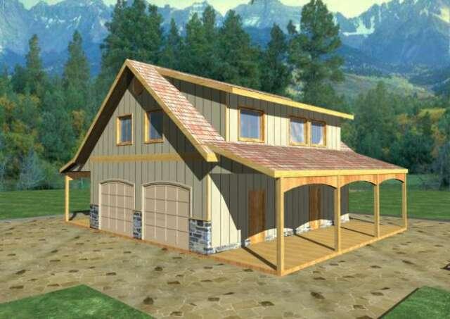 Garage Plan 039-00406