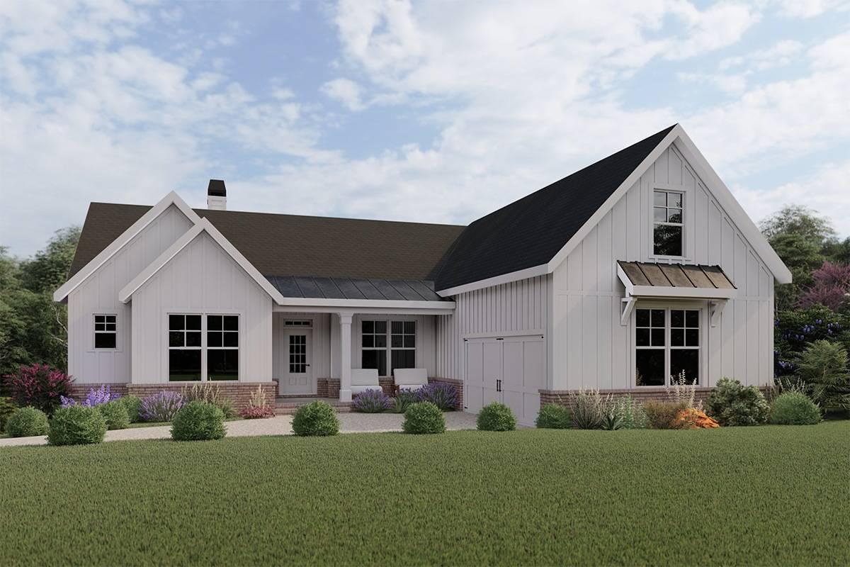 Modern Farmhouse House Plan 009-00275