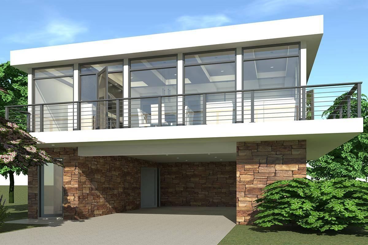Modern House Plan 028-00098