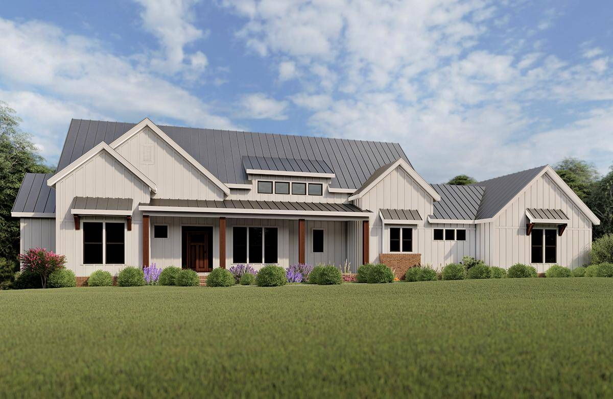 Modern Farmhouse Plan 009-00276