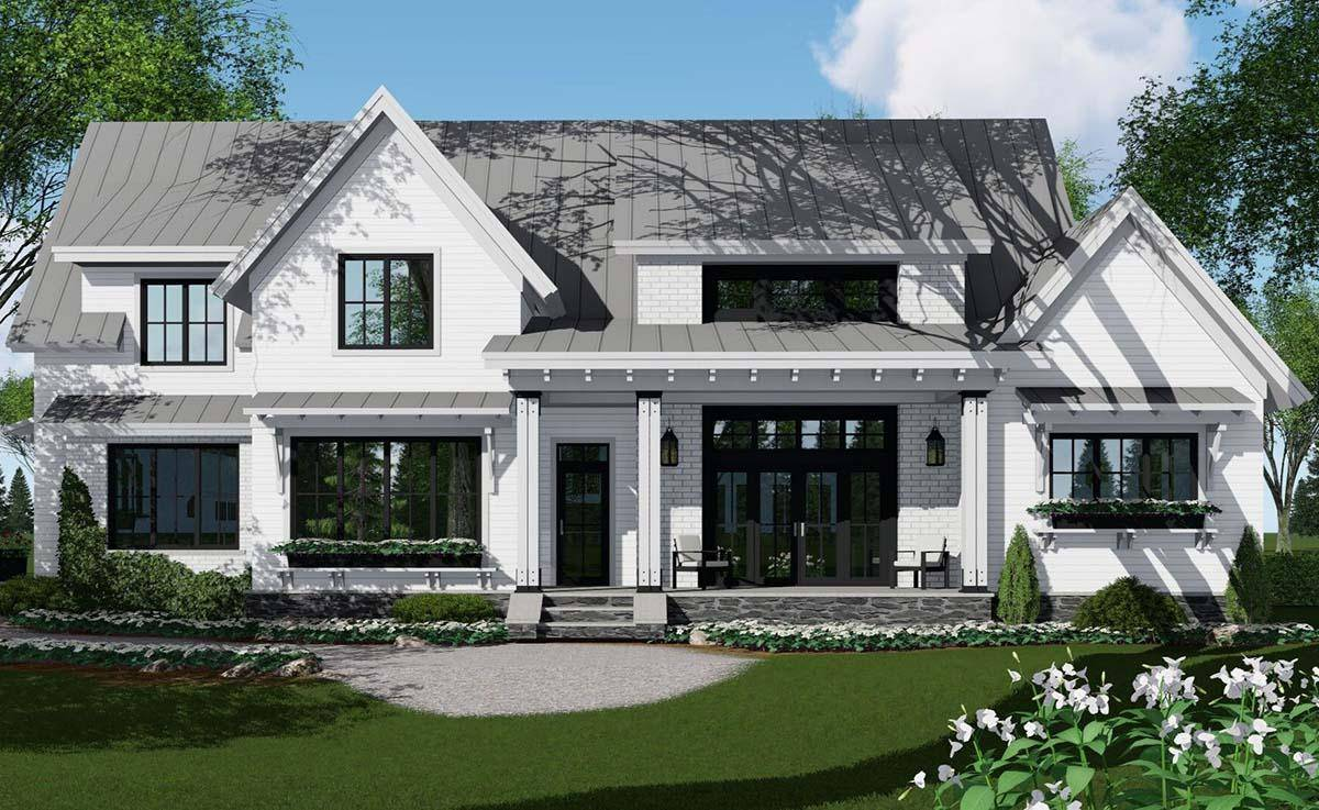 Modern Farmhouse Plan 098-00302