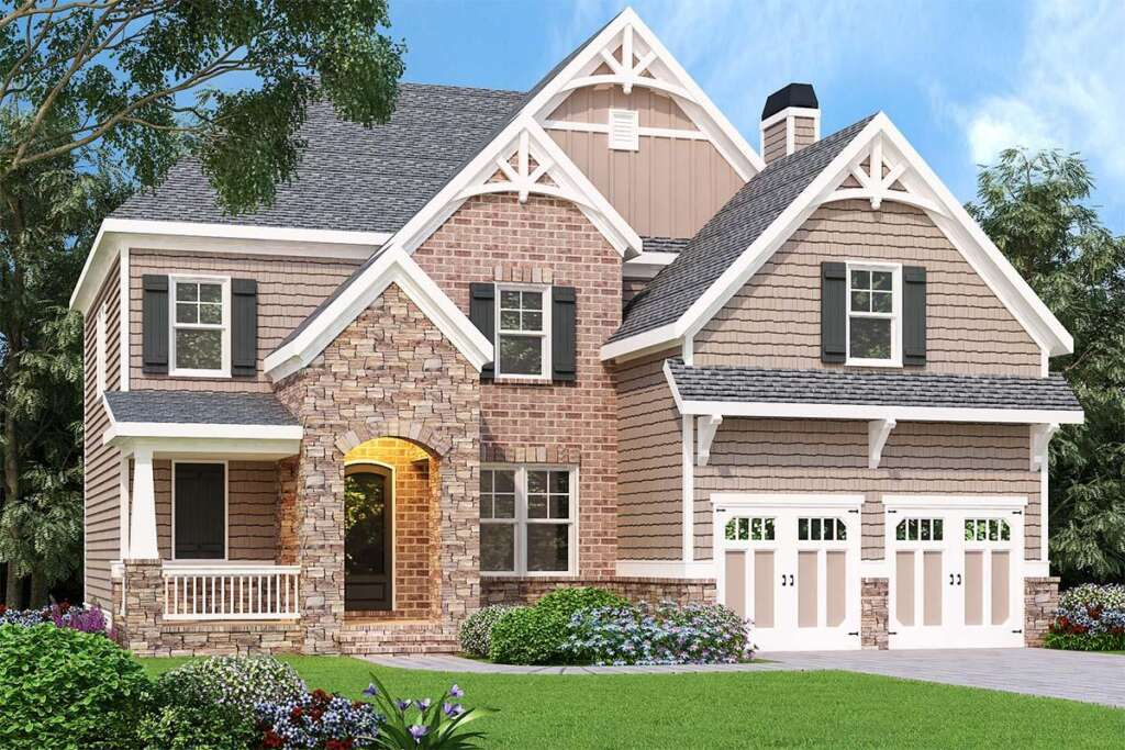 Traditional House Plan 009-00280