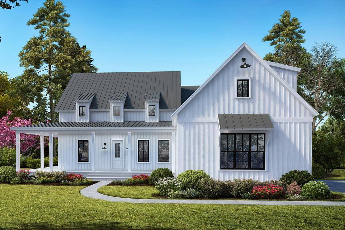 Modern Farmhouse Plan 699-00109