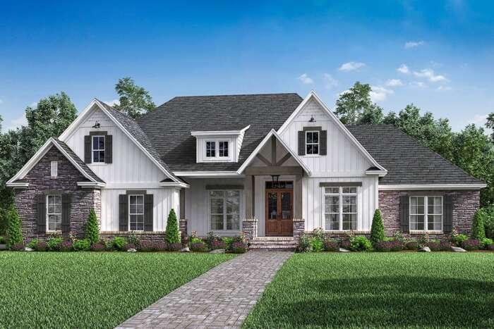 Craftsman House Plan 041-00174