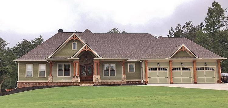 Craftsman House Plan 286-00064