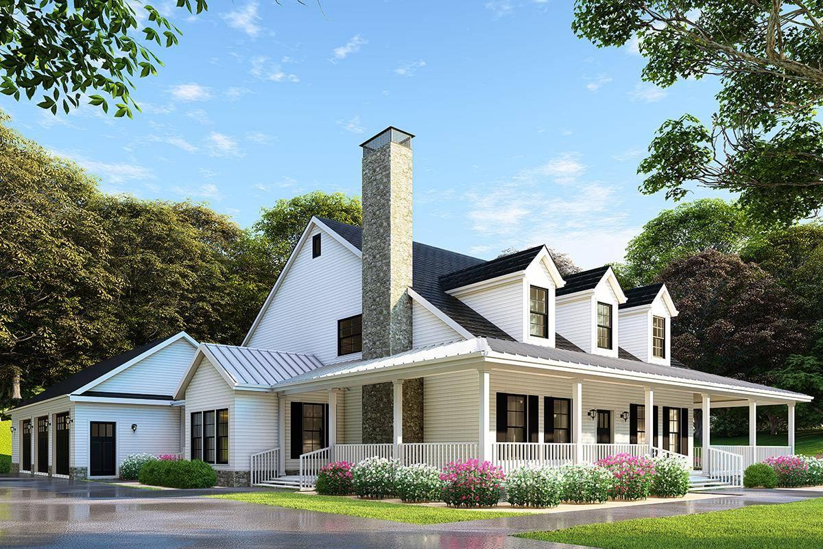 Farmhouse Plan 110-00971