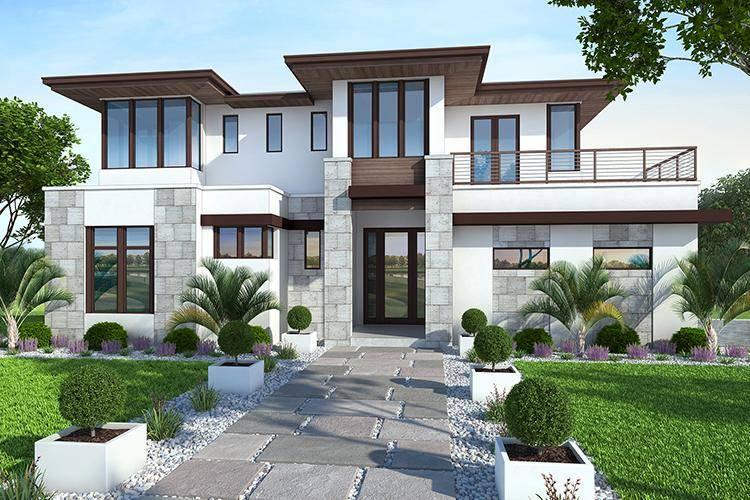 Modern House Plan 207-00042