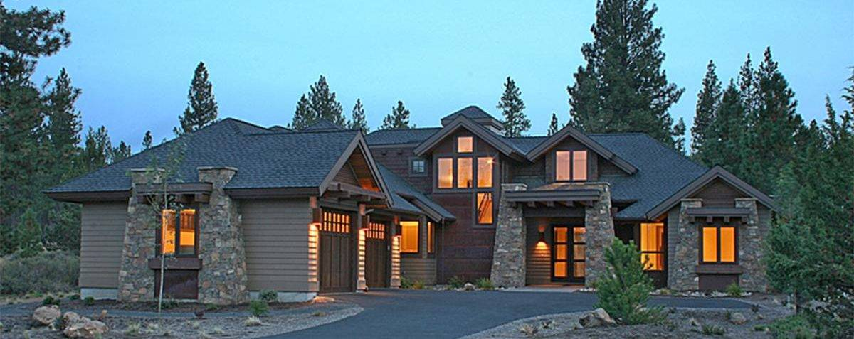 Mountain Rustic House Plan 5829-00012