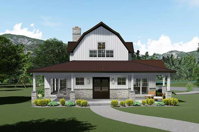 Country House Plan 8318-00117