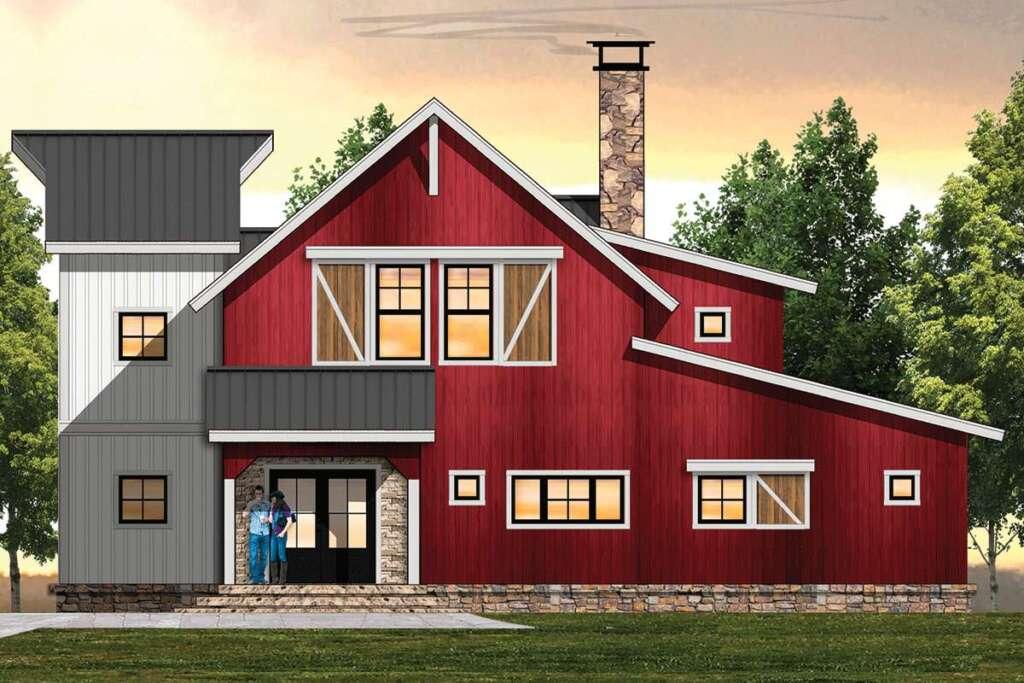 Farmhouse Plan 8504-00160