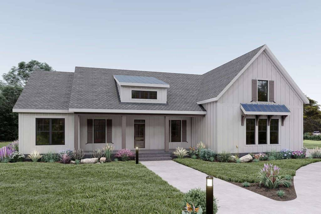 Modern Farmhouse Plan 009-00290