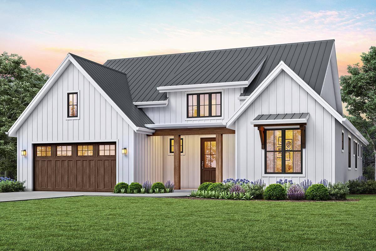 Modern Farmhouse Plan 2559-00815