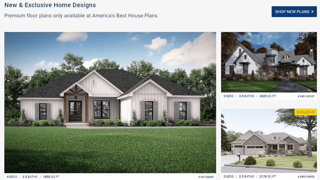 New and Exclusive Home Designs