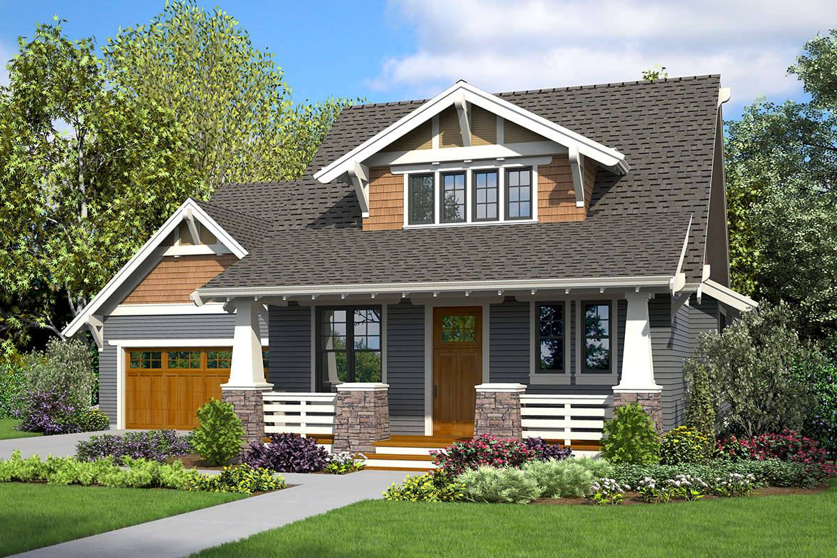 Bungalow House Plan 2559-000835