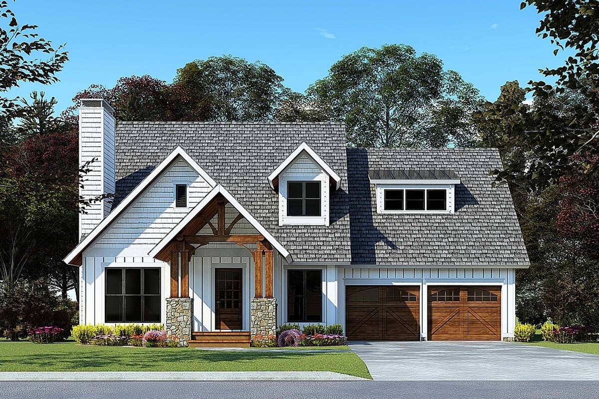 Craftsman House Plan 8318-00173