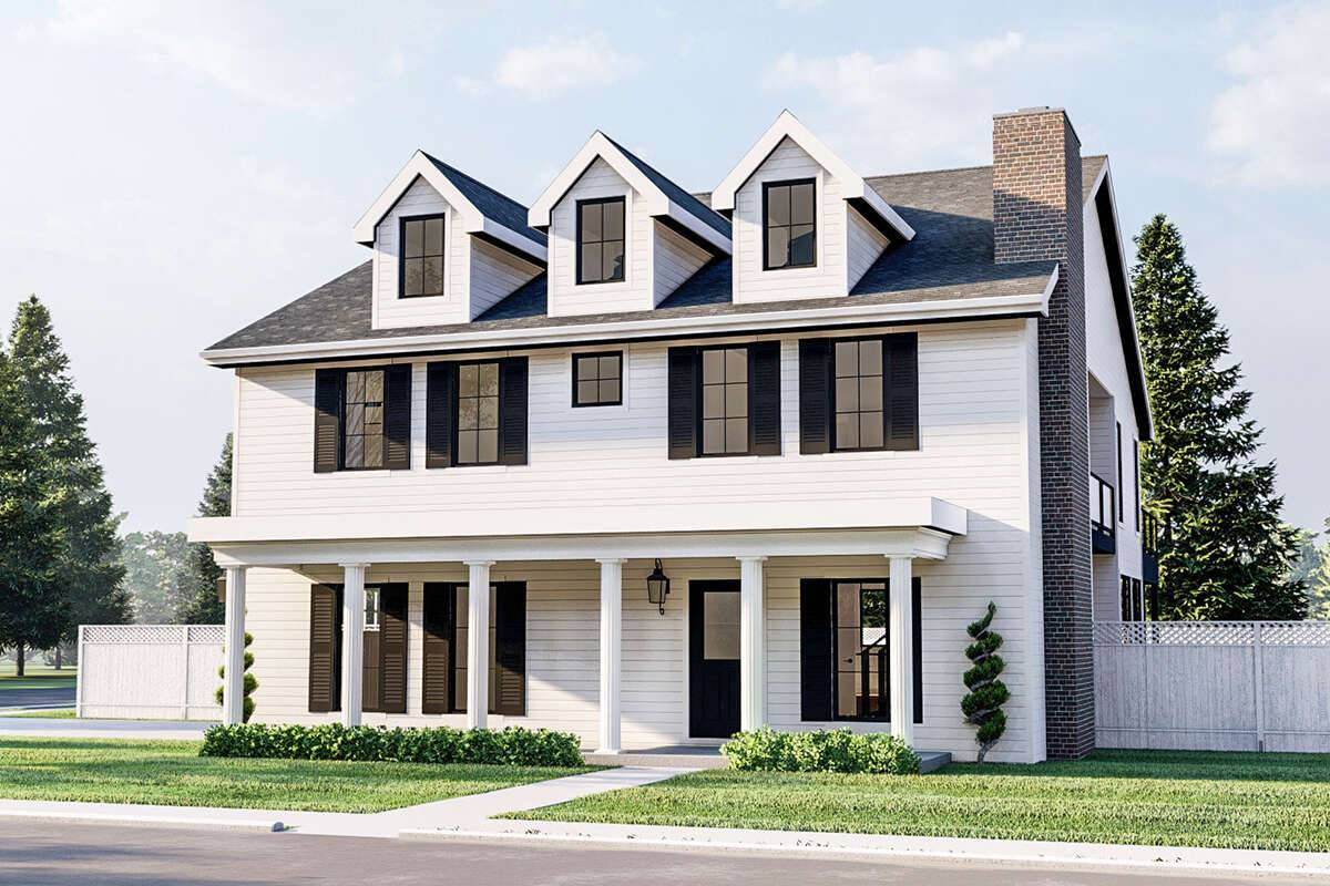 Farmhouse Plan 963-00450