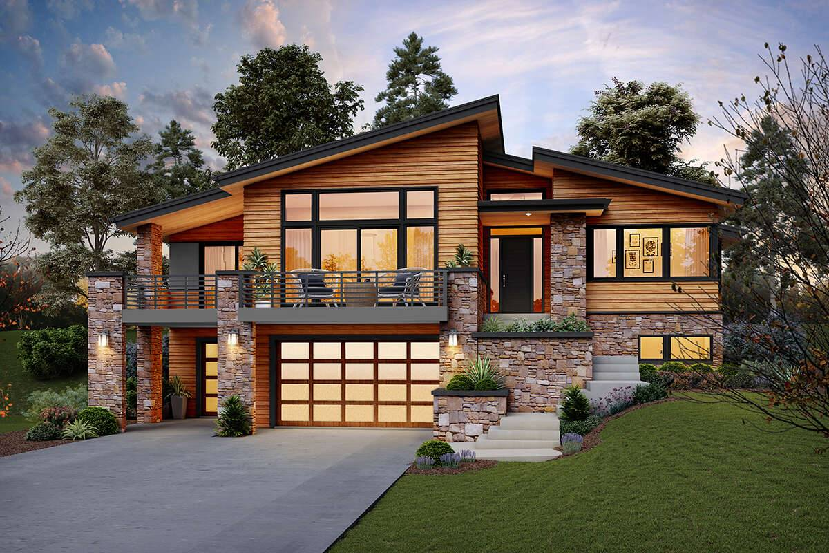 Modern House Plan 2559-00847