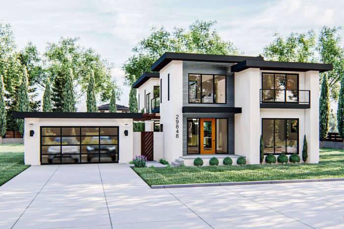 Modern House Plan 963-00433