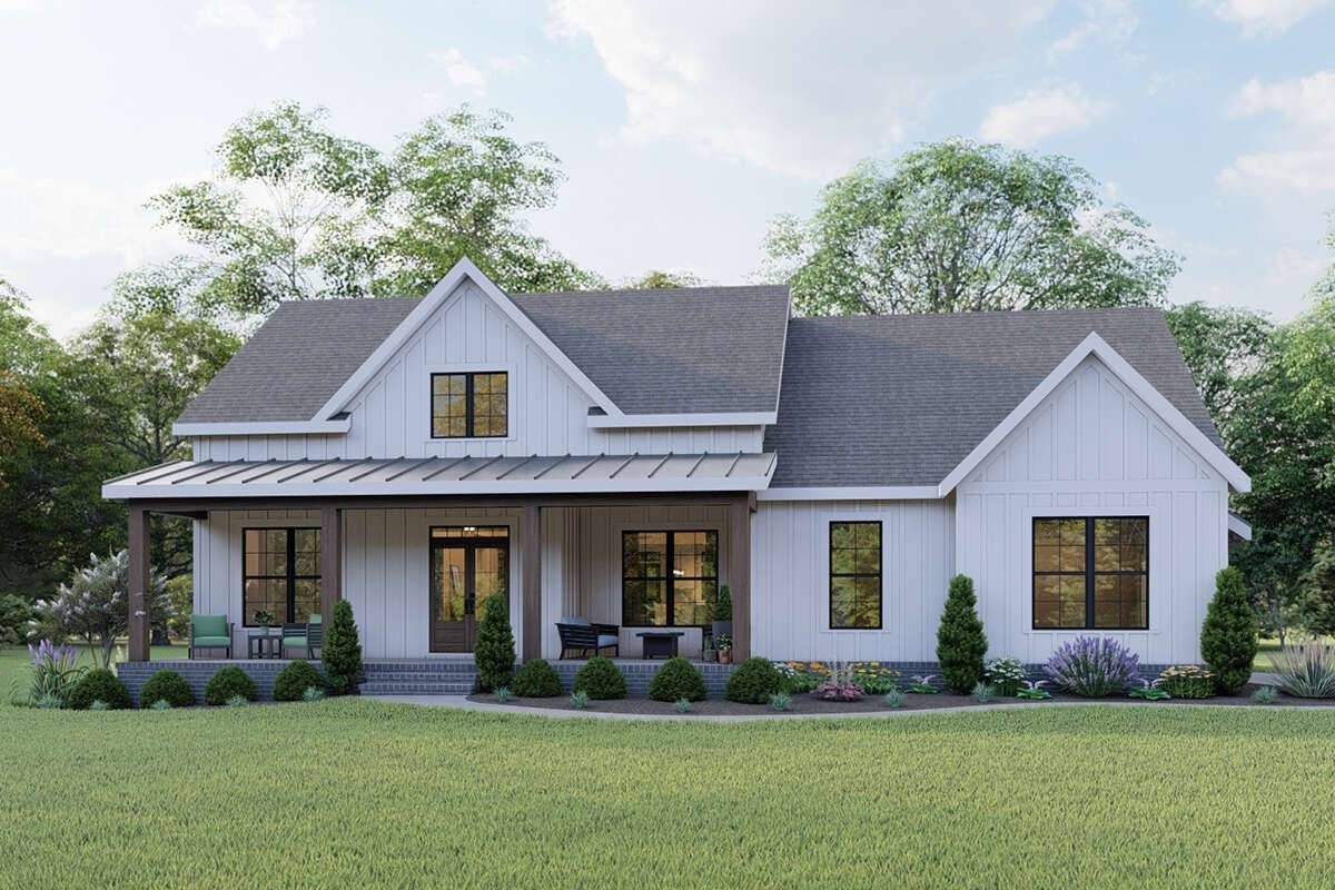 Modern Farmhouse Plan 009-00294